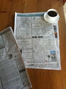 Die meist gelesene Seite jeder Tageszeitung ... (Foto: fn)
