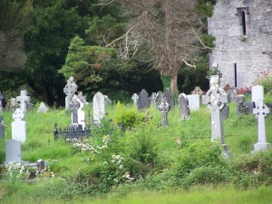 Friedhof in Killarney, Irland (Foto: fn)